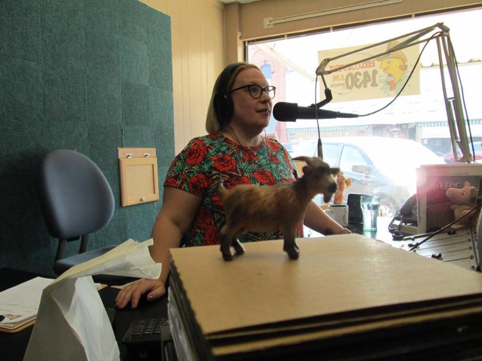 Martha on the air
