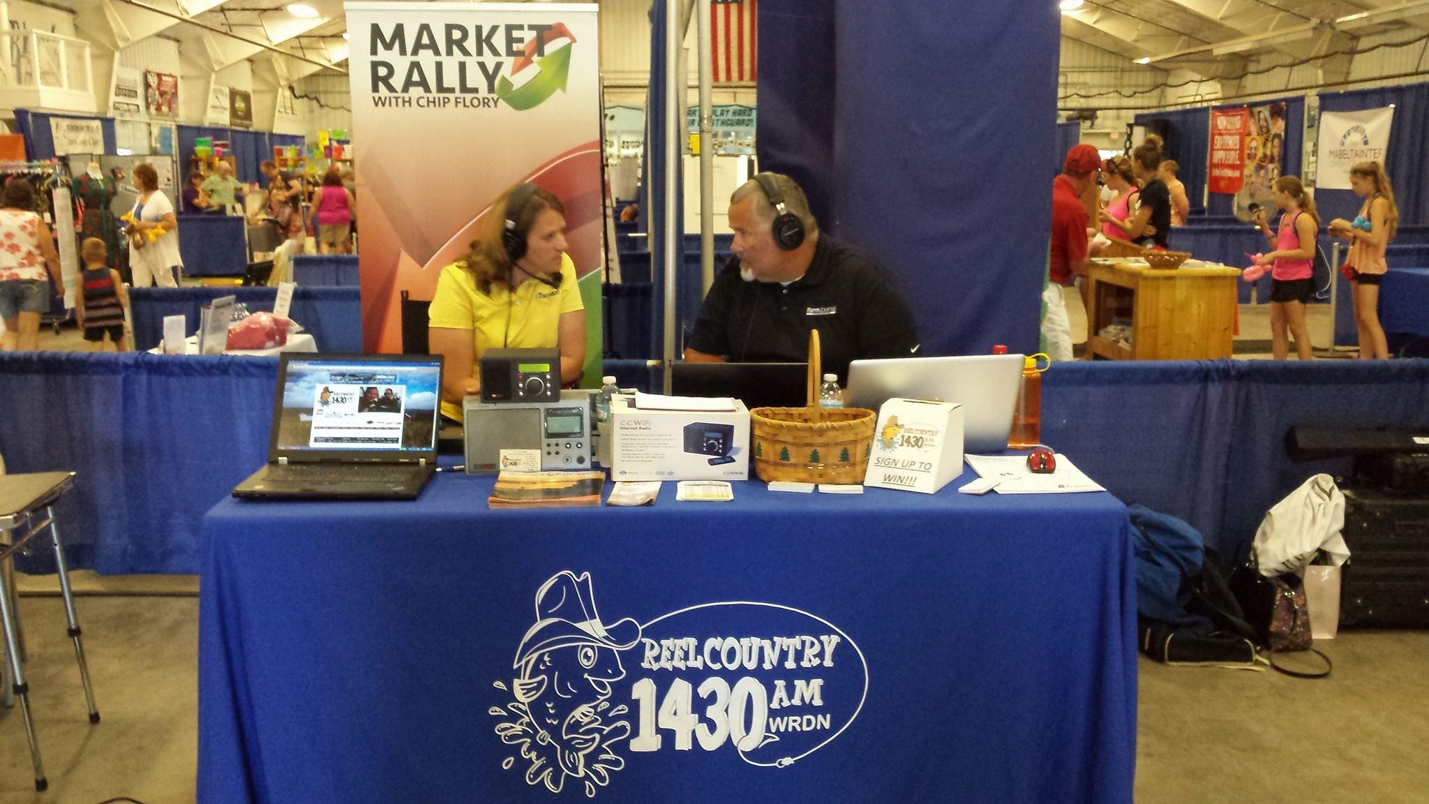 fair booth interviews