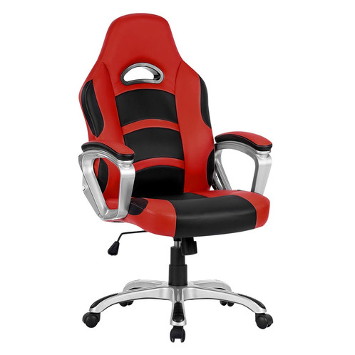 langria ergonomic high-back leather racing style computer gaming