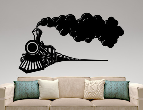 Genial Train Wall Decal Design Wall Art Mural | Persona Enterprise LLC. Wholesale  Items. Great Gifts At Great Prices!