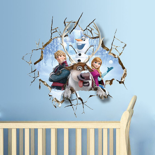3D Wall Stickers Decal Bedrooms Frozen Mural