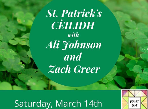 St. Patrick's Day Ceilidh