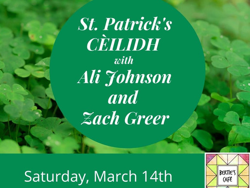 St. Patrick's Day Ceilidh