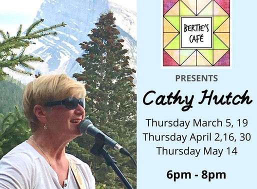Thursday Nights with Cathy Hutch!