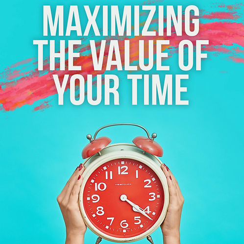 Maximizing the Value of Your time Bundle