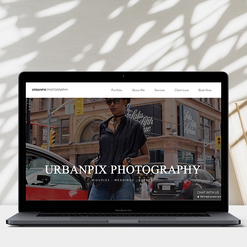 UrbanPix Wix Website Template