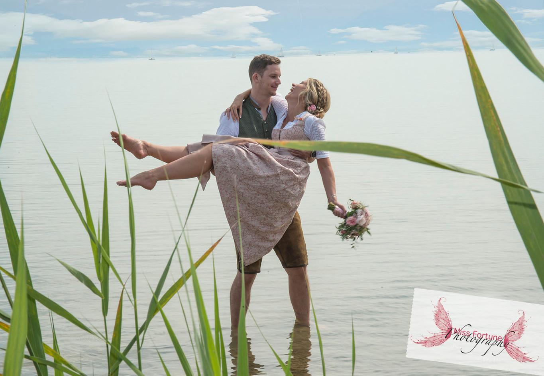 Vintage Hochzeit am Chiemsee