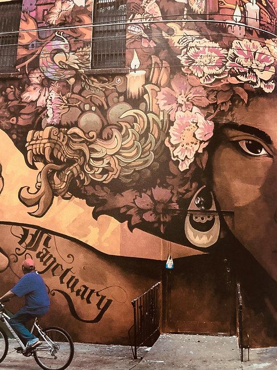 Photo provided by artist of  Mural Arts Philadelphia