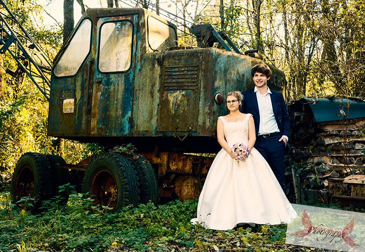 Trashy Hochzeit