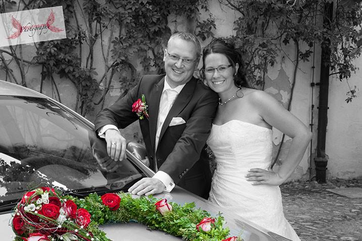 Romantische Hochzeit