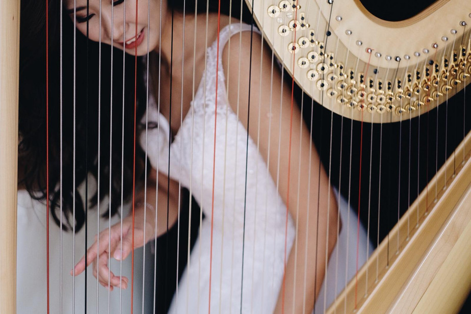 香港 豎琴 演奏級 老師 趙涴琪 Rachel Chiu