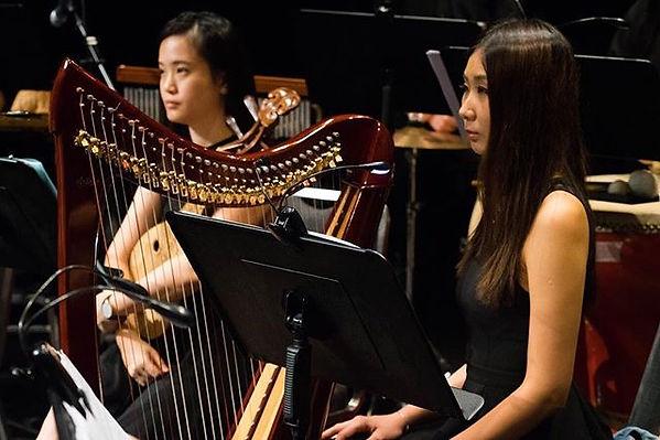 Lok Sum Chinese Orchestra__#harp#harpist