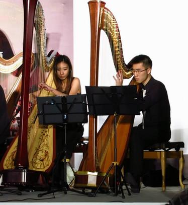 香港 豎琴 演奏級 老師 趙涴琪 Rachel Chiu harp duet