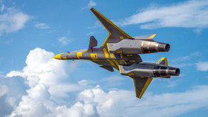 """The story of the """"ADFX-01 Morgan First Prototype"""" feat. Scale Aviation vol. 135"""