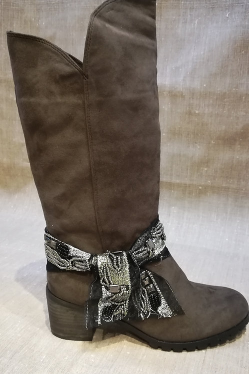 Bottines Galane Marron Molly Bracken