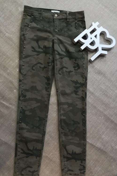 Pantalon slim cigarette Camouflage  Stud, HAPPY