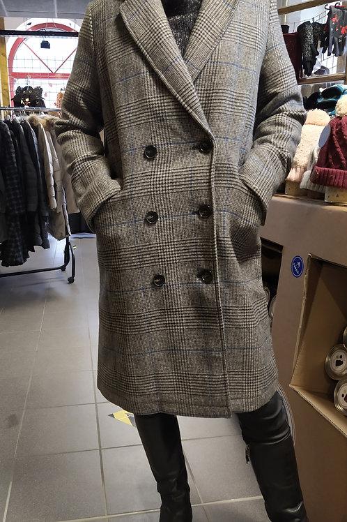 Manteau long Prince de galles C'est beau la vie