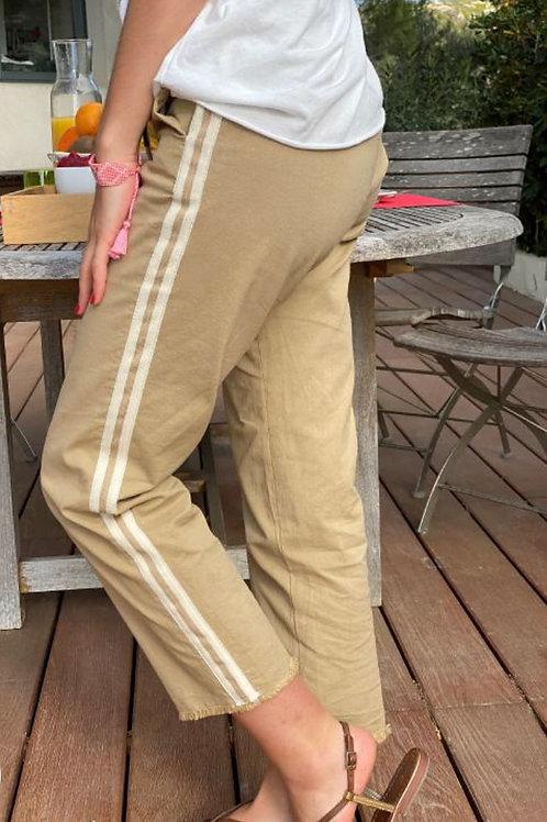 Pantalon 7/8 SUNNY sable , HAPPY