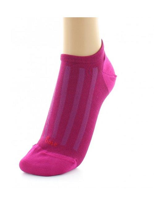 Socquettes Soie Rose  Berthe aux grands pieds