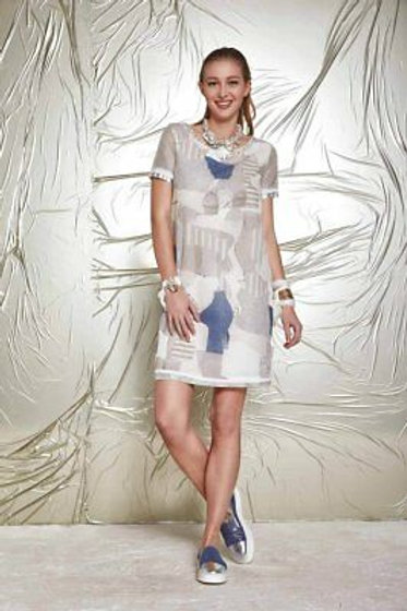 Robe couverte de sequins ELISA CAVALETTI