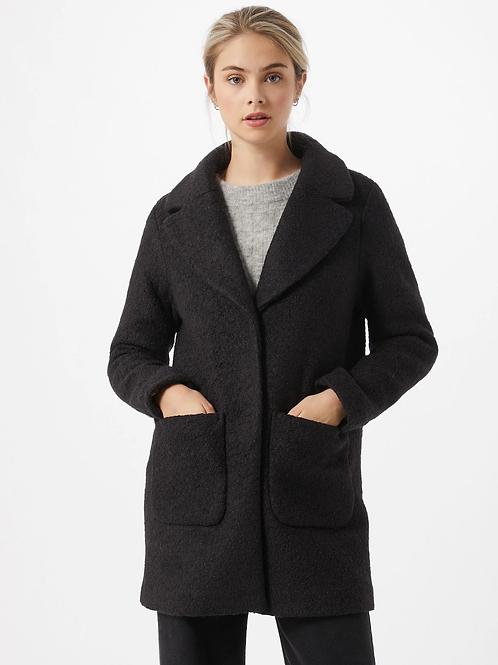Manteau mi saison noir Itshipa  ICHI