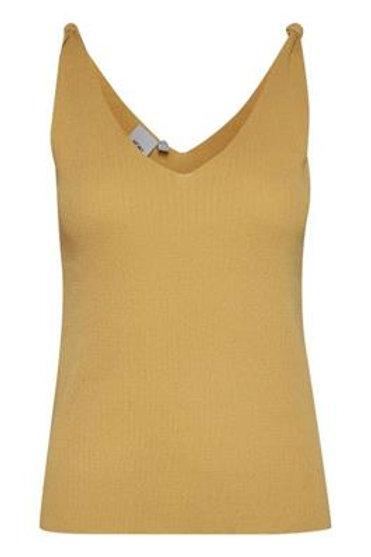 Top bretelle yellow ICHI