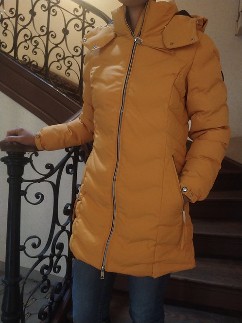 Manteau avec matelassage yellow Street one
