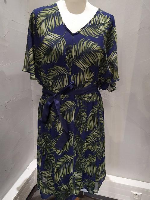 Robe motif feuilles  Gaudi