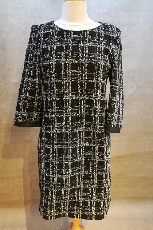 Robe noir/blanc La Fée Maraboutée