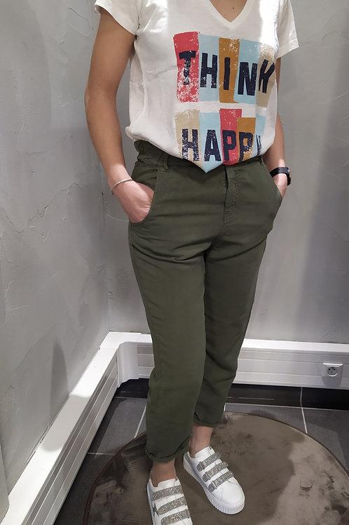 Pantalon Love kaki , HAPPY