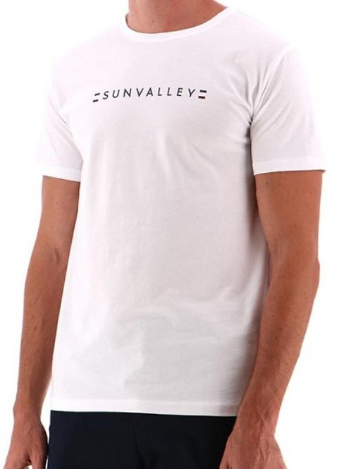 Tee shirt blanc  Sun valley