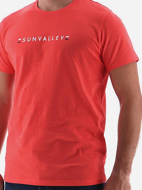 Tee shirt corail   Sun valley