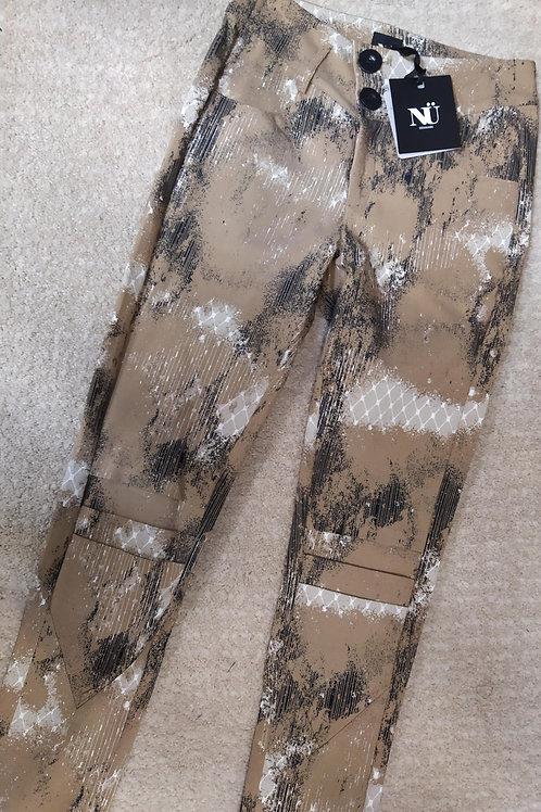 Pantalon Nola Golby camel mix Nü