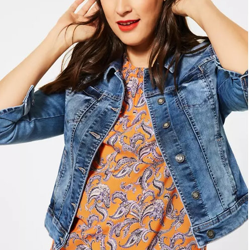 Veste jeans denim Street one