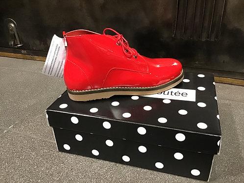 Boots rouge La Fée Maraboutée