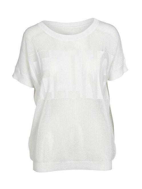 Tee shirt maille blanc  Nü