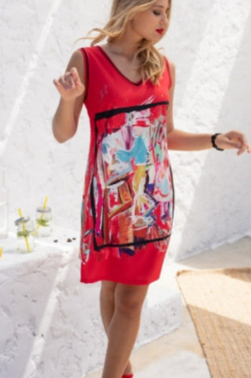 Robe imprimé Montmartre Maloka