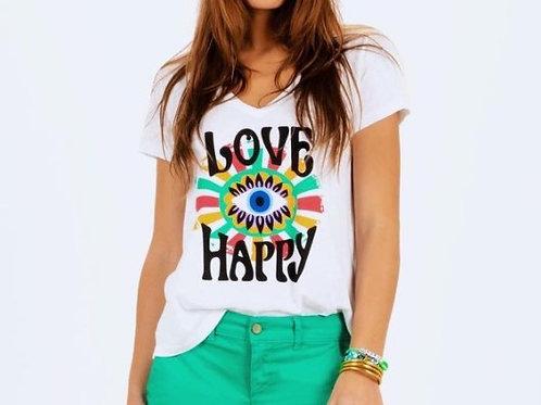 Tee shirt Navarosse HAPPY
