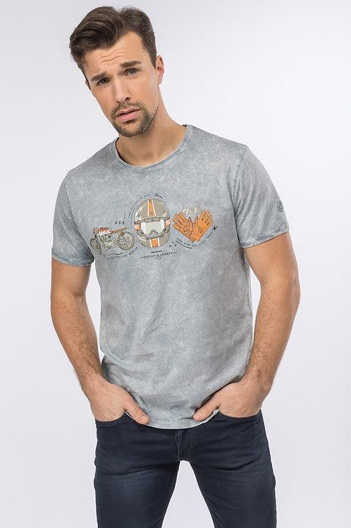 Tee shirt TIBOLTMAR effet délavé Benson & Cherry