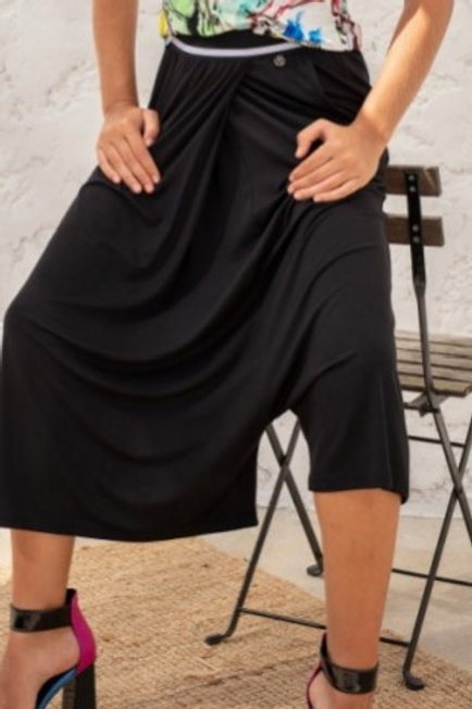 Pantalon sarouel Lulu Maloka noir