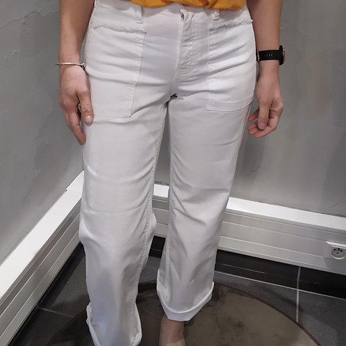 Pantalon SWEETY blanc , HAPPY