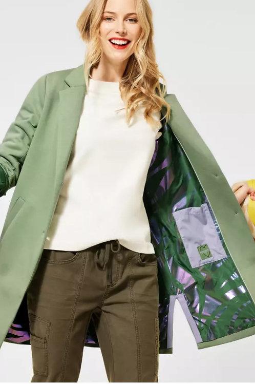 Manteau en jersey de style blazer Street one