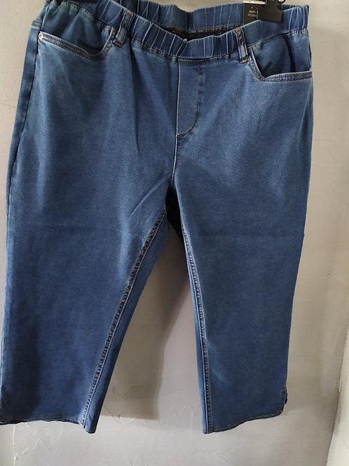 Pantacourt jeans taille élastique  CISO