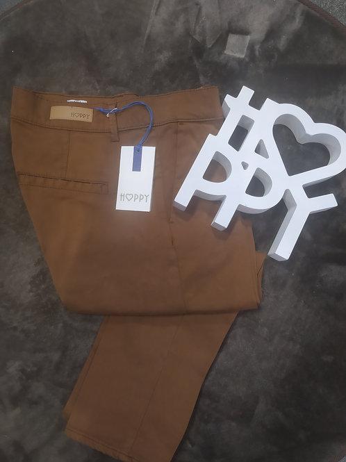 Pantalon slim cigarette cannelle JOY, HAPPY