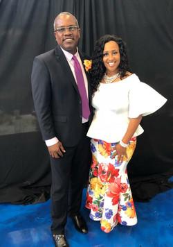 St.Thomas Governor Bryan & Nikki