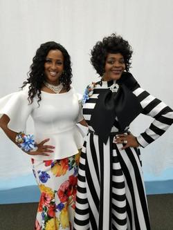 Nikki & Singer Lorna Freeman