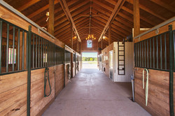 stables - aisle way view 2