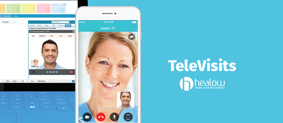 Are you sick but cannot make it into the office? Introducing TeleVisits!