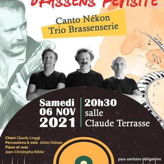 CANTO NEKON - Brassensserie en trio