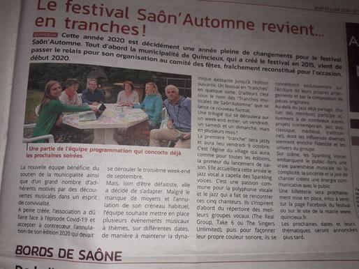 """Saôn'Automne revient ... en """"Tranches"""""""
